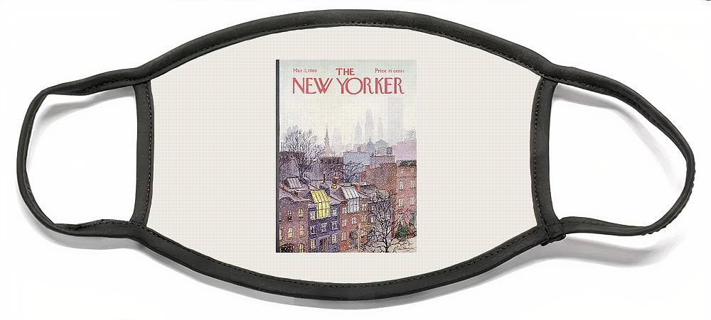 New Yorker March 2, 1968 Face Mask