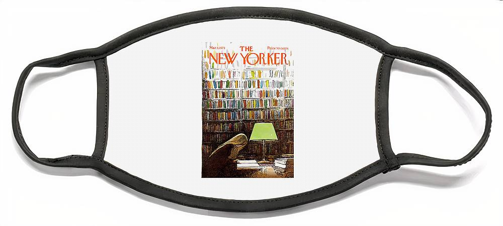 New Yorker March 3, 1973 Face Mask