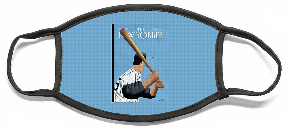 New Yorker April 12th, 1999 Face Mask