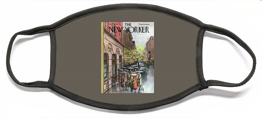 New Yorker April 21st, 1951 Face Mask