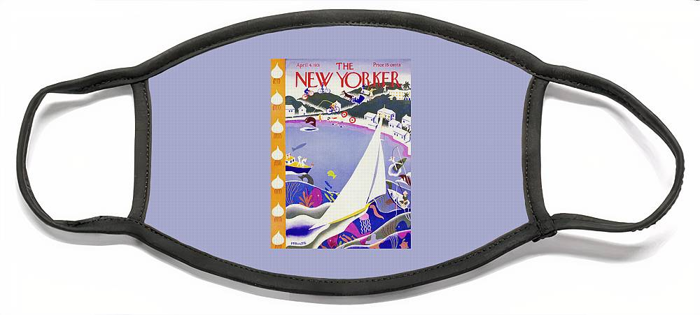 New Yorker April 4 1931 Face Mask