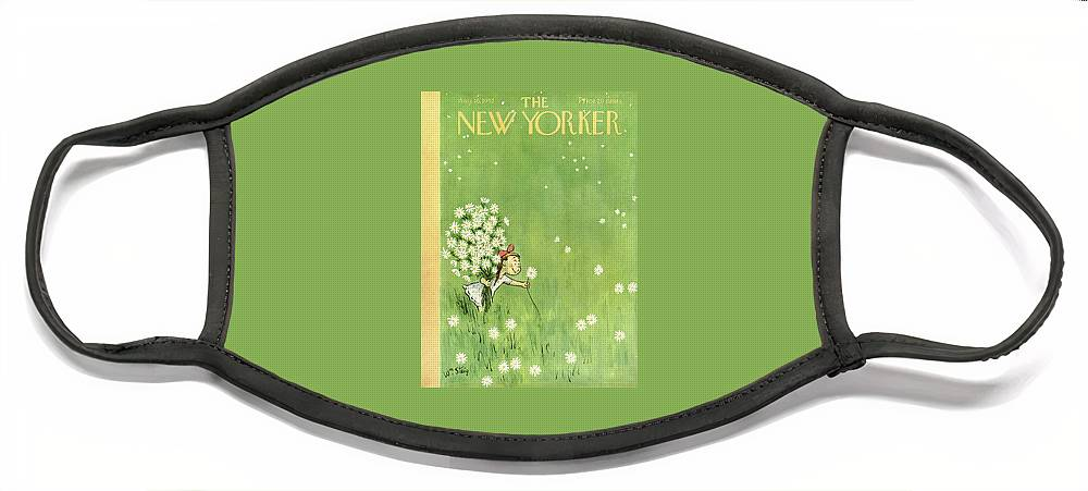 New Yorker August 16th, 1952 Face Mask
