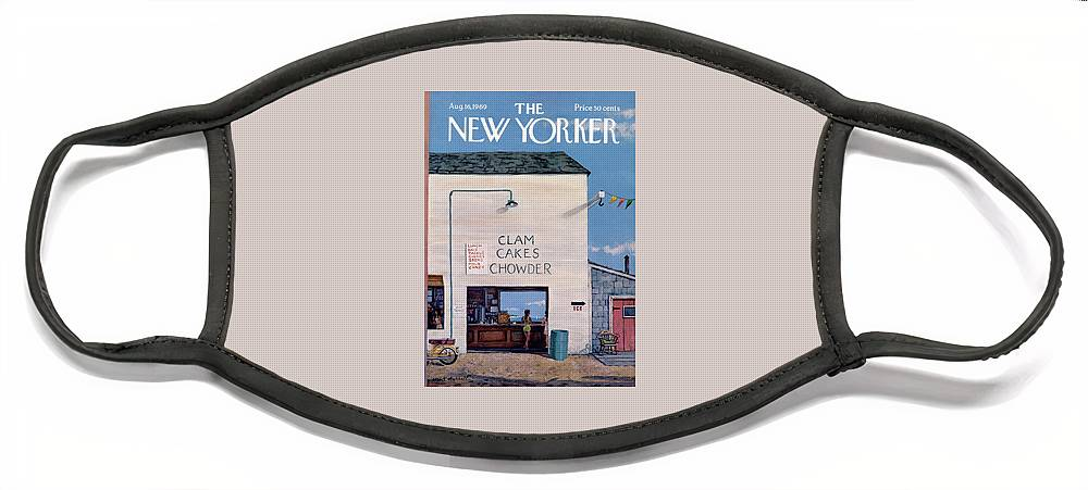 New Yorker August 16th, 1969 Face Mask