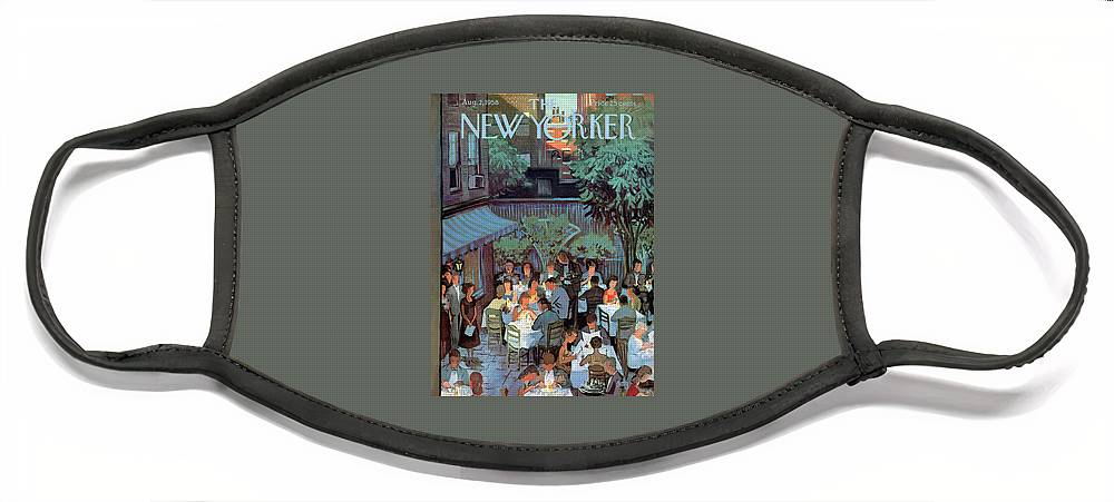 New Yorker August 2nd, 1958 Face Mask