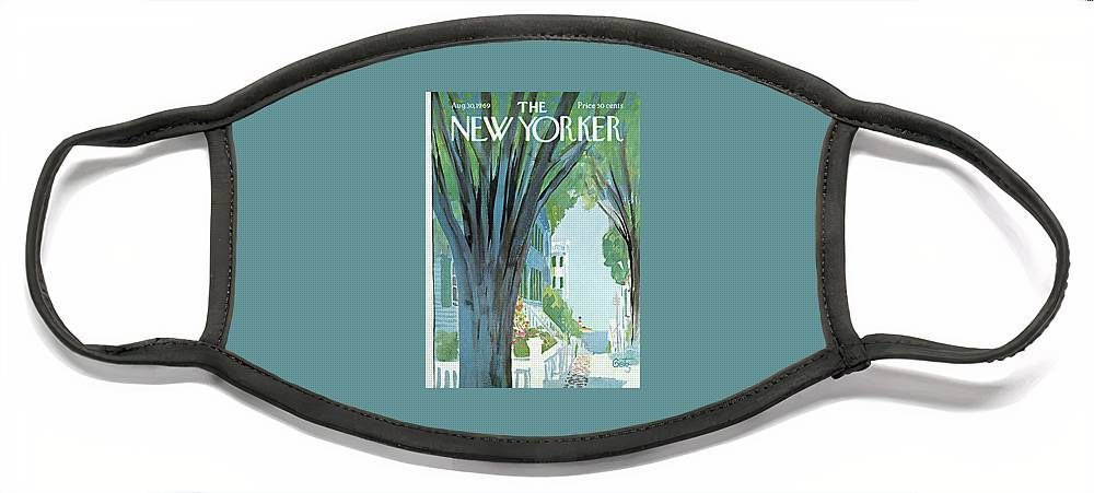 New Yorker August 30th, 1969 Face Mask