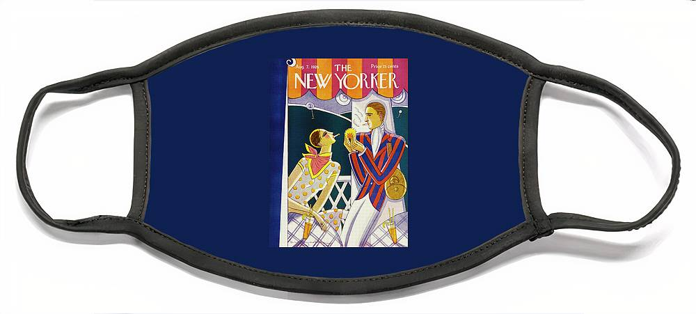 New Yorker August 7 1926 Face Mask