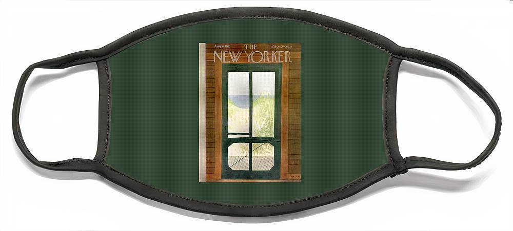 New Yorker August 8th, 1953 Face Mask