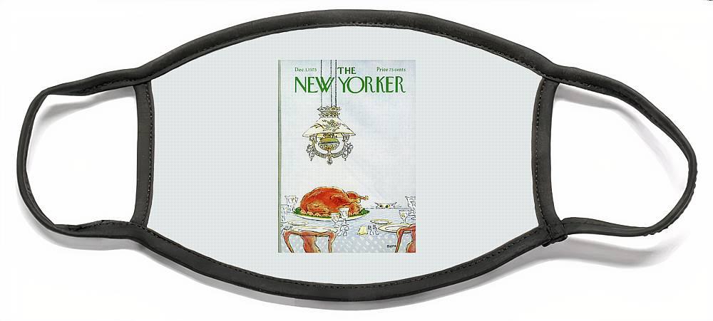 New Yorker December 1st, 1975 Face Mask