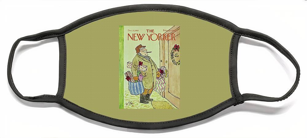 New Yorker December 23rd 1967 Face Mask