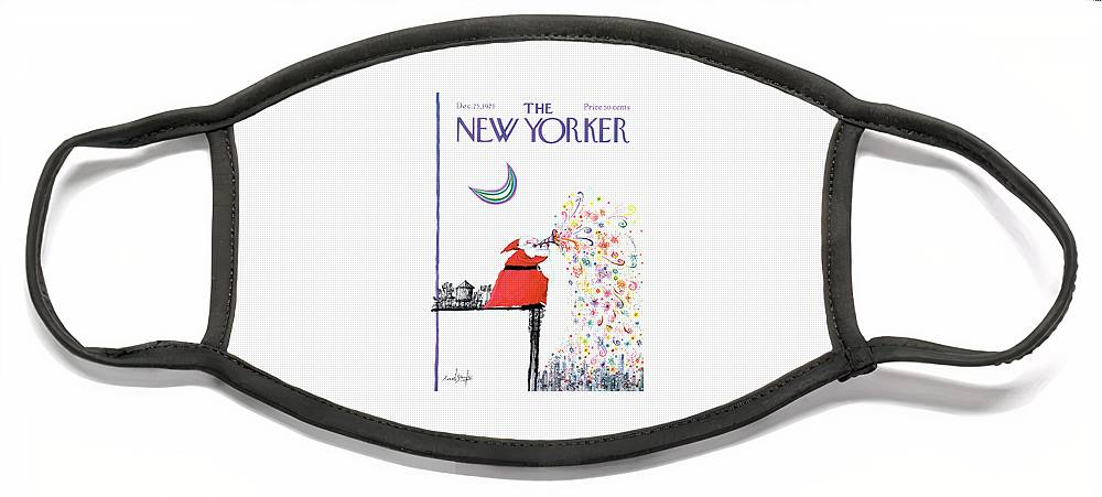 New Yorker December 25th, 1971 Face Mask