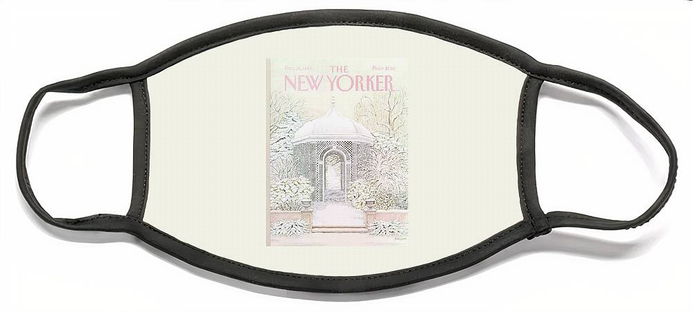 New Yorker December 26th, 1983 Face Mask