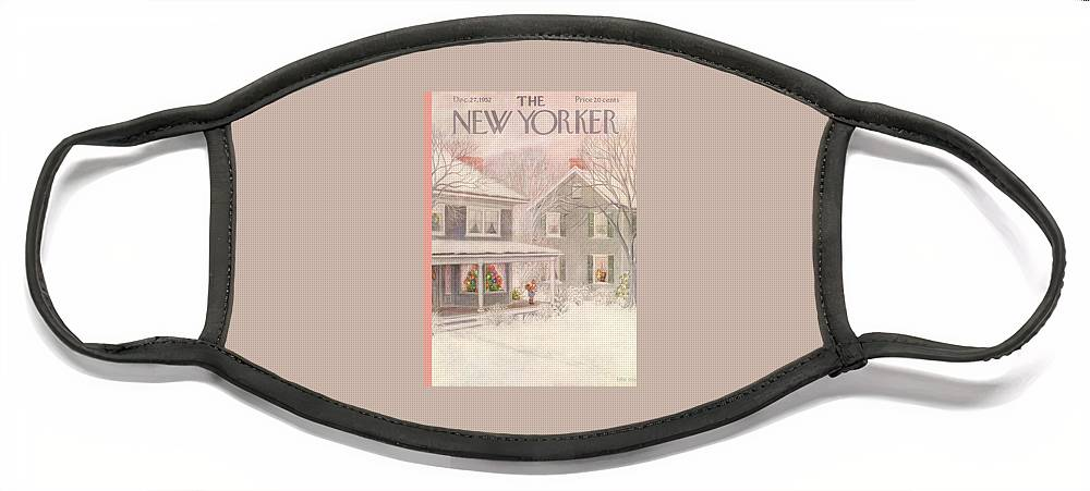 New Yorker December 27th, 1952 Face Mask
