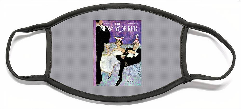 New Yorker December 31st, 1966 Face Mask