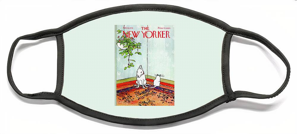 New Yorker February 16th, 1976 Face Mask