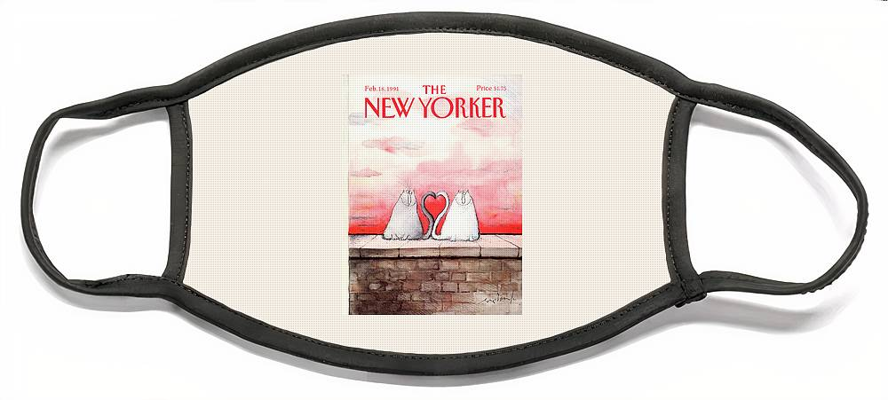 New Yorker February 18th, 1991 Face Mask