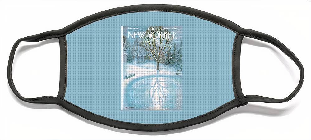 New Yorker February 28th, 1959 Face Mask
