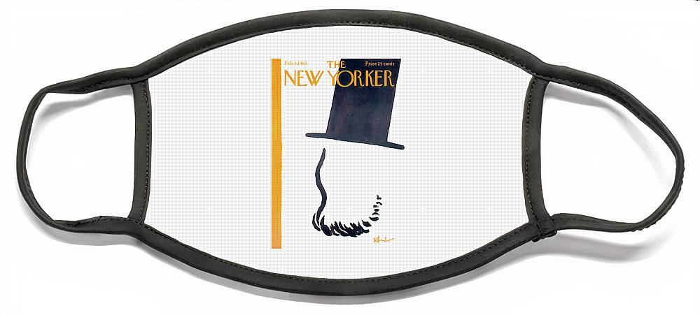 New Yorker February 9th, 1963 Face Mask