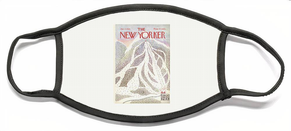 New Yorker January 13th, 1968 Face Mask