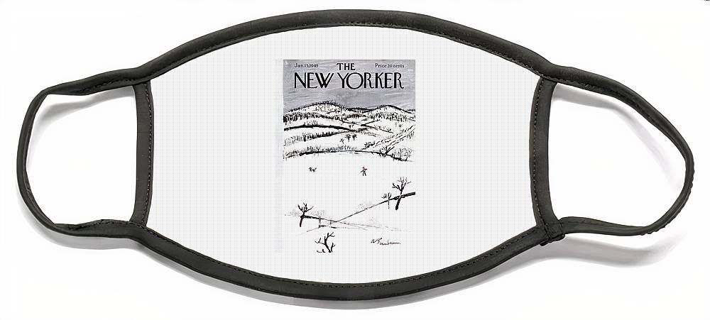 New Yorker January 15th, 1949 Face Mask