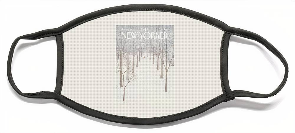 New Yorker January 26th, 1981 Face Mask