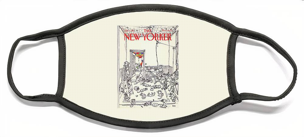 New Yorker January 5th, 1981 Face Mask