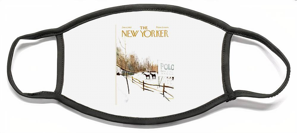 New Yorker January 6th, 1962 Face Mask