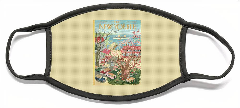 New Yorker January 8th, 1955 Face Mask