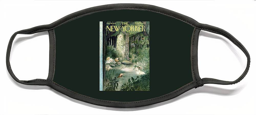 New Yorker July 10th, 1954 Face Mask