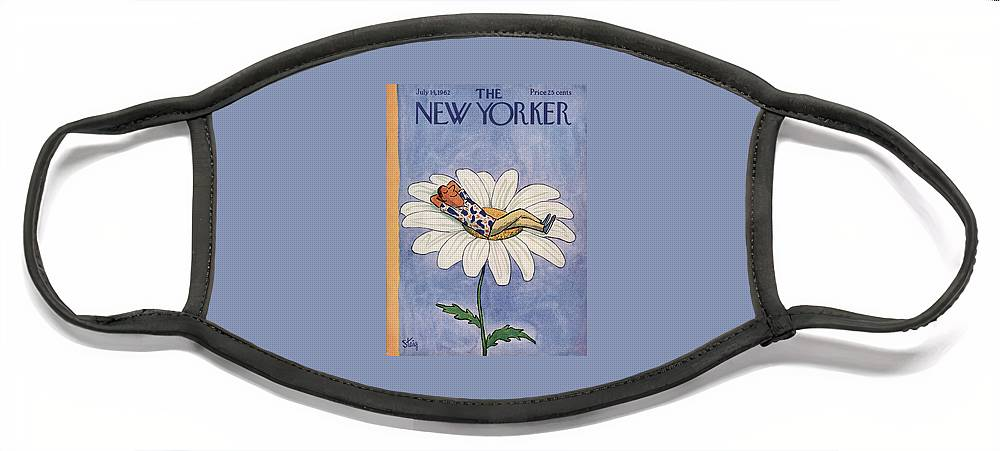 New Yorker July 14th, 1962 Face Mask