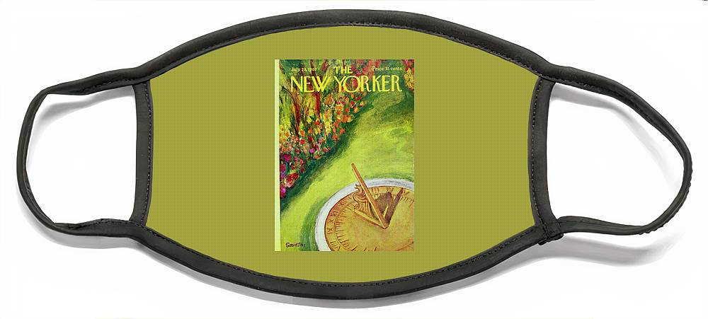 New Yorker July 29th 1967 Face Mask