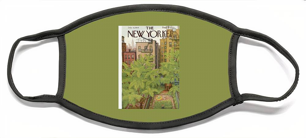 New Yorker July 31st, 1954 Face Mask