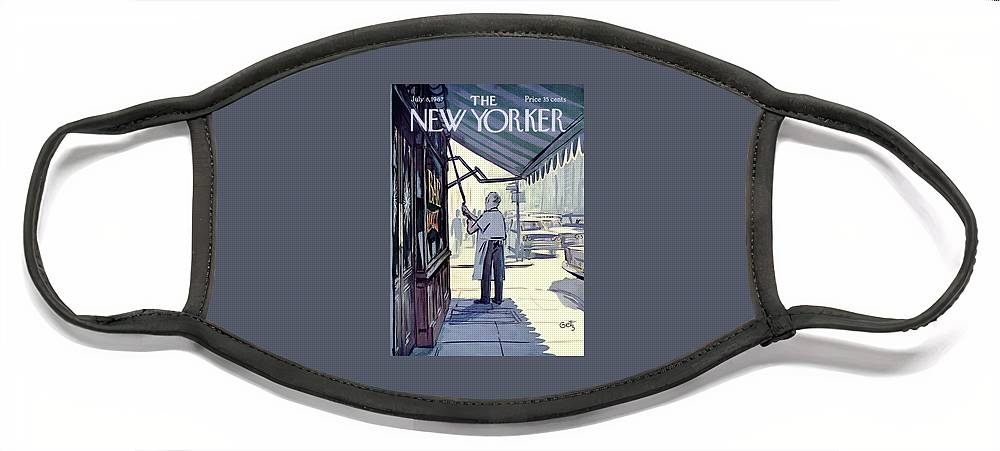 New Yorker July 8th, 1967 Face Mask