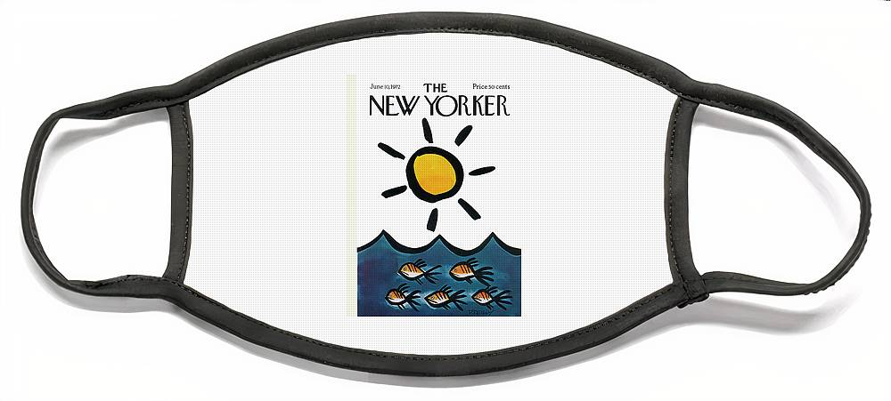New Yorker June 10th, 1972 Face Mask