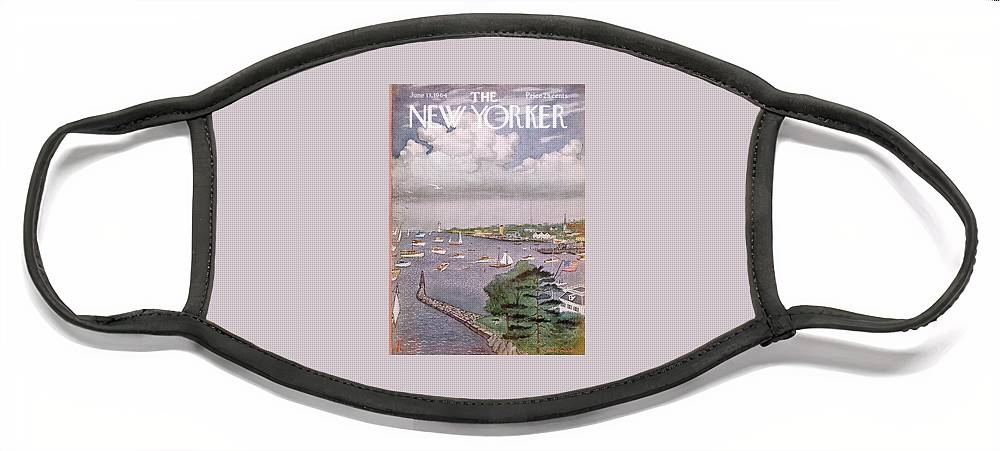 New Yorker June 13th, 1964 Face Mask