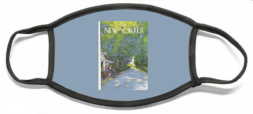 New Yorker June 21st, 1976 Face Mask