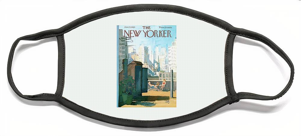 New Yorker June 22nd, 1963 Face Mask