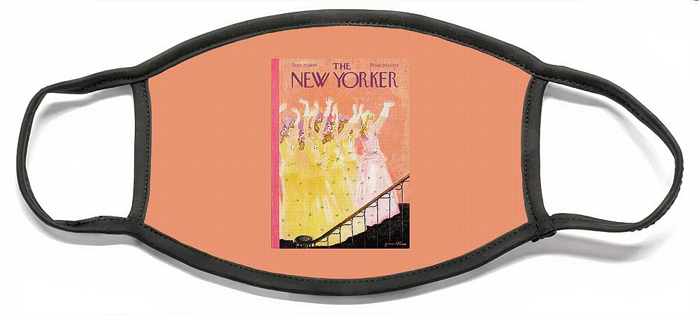 New Yorker June 25th, 1949 Face Mask