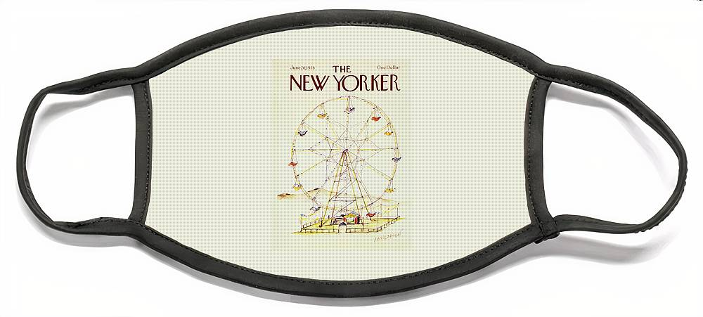 New Yorker June 26th 1978 Face Mask