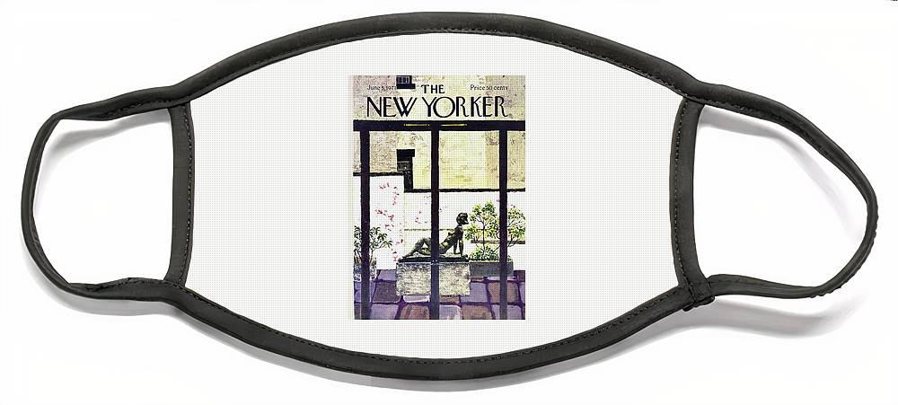 New Yorker June 5th 1971 Face Mask