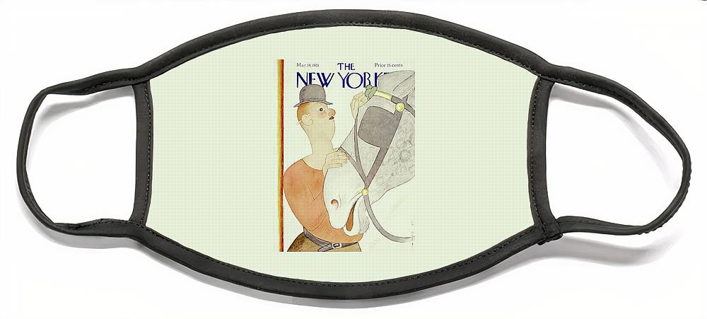 New Yorker March 14 1931 Face Mask