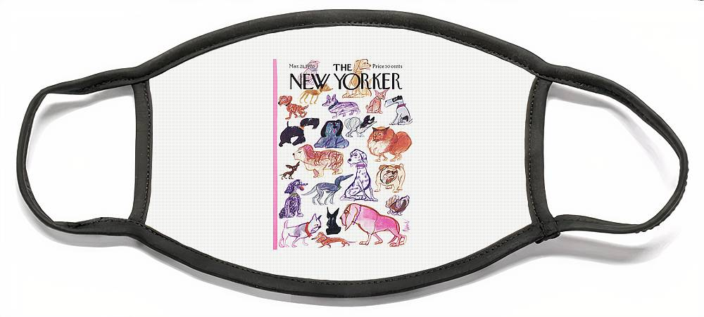 New Yorker March 21st, 1970 Face Mask