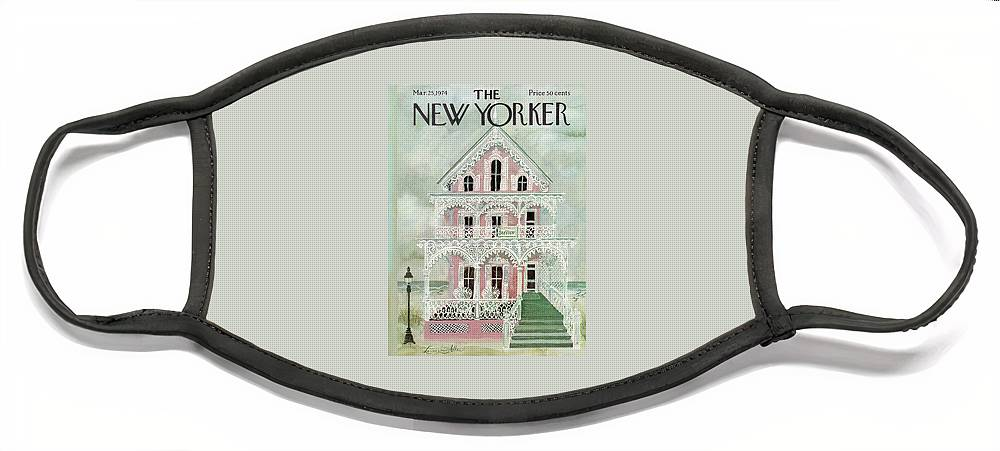 New Yorker March 25th, 1974 Face Mask