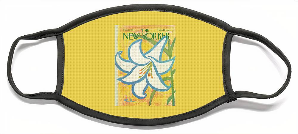 New Yorker March 28th, 1964 Face Mask