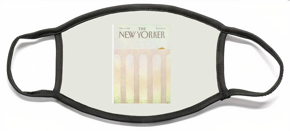 New Yorker March 2nd, 1981 Face Mask