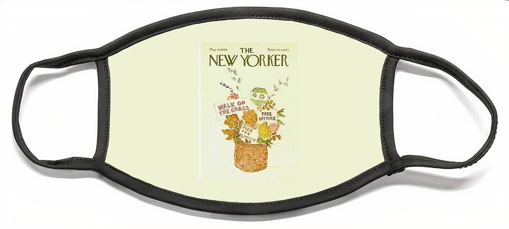 New Yorker May 10th, 1969 Face Mask