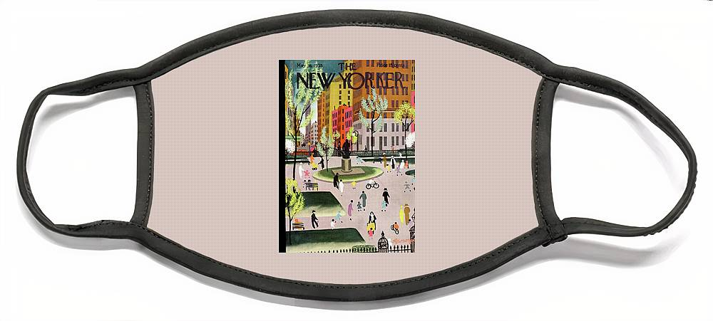 New Yorker May 18, 1935 Face Mask