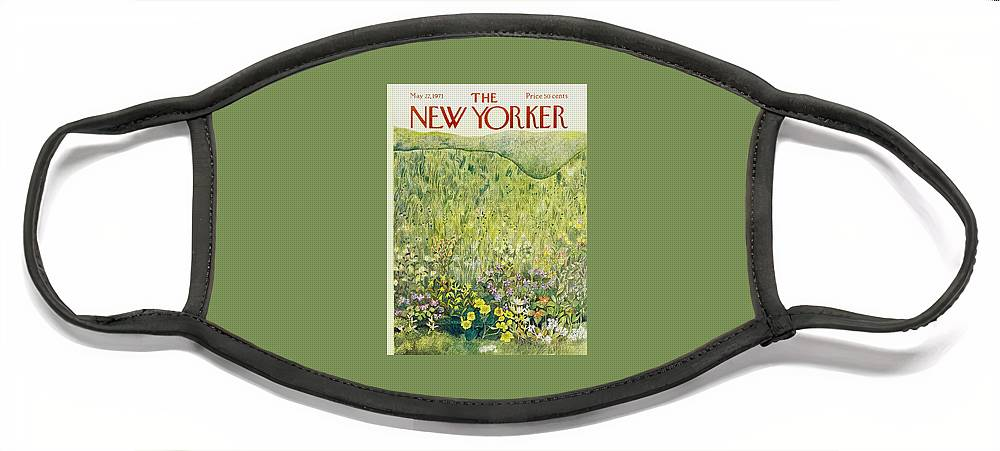 New Yorker May 22nd 1971 Face Mask