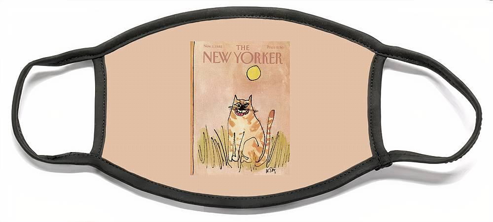 New Yorker November 1st, 1982 Face Mask