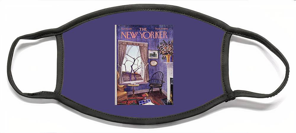 New Yorker November 20th 1965 Face Mask