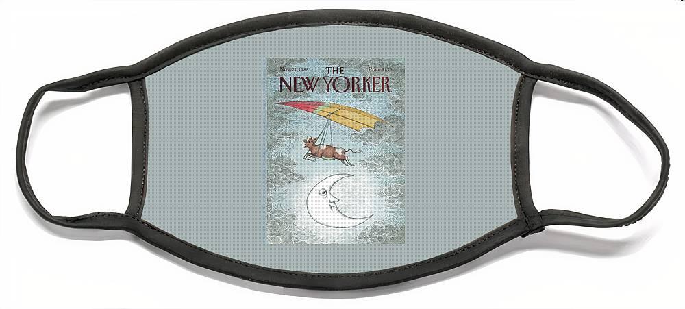 New Yorker November 21st, 1988 Face Mask